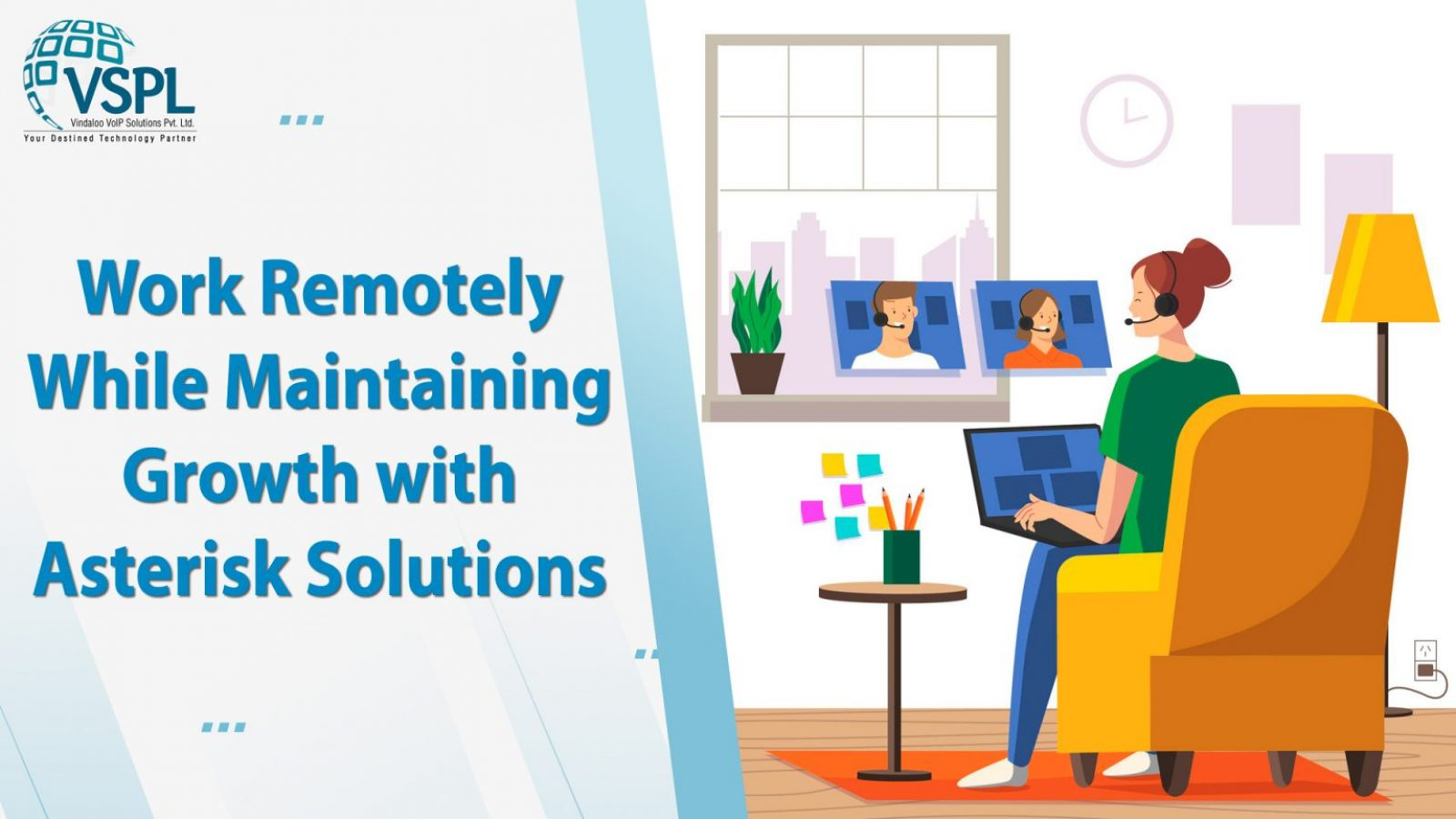 Work Remotely While Maintaining Growth with Asterisk Solutions