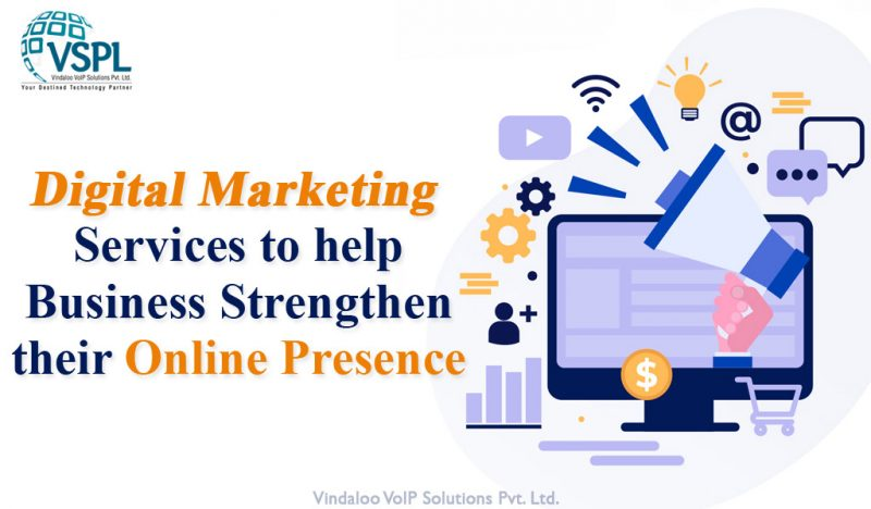 VSPL Launches Digital Marketing Services to help Business Strengthen their Online Presence